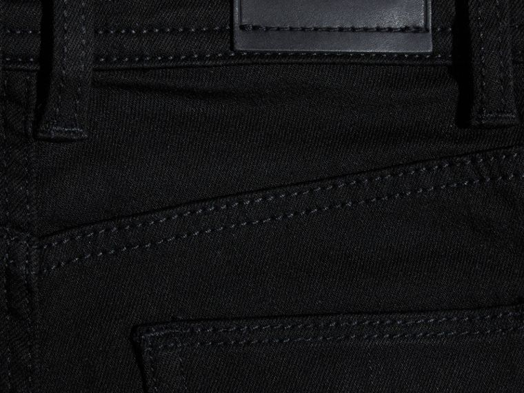 Black Skinny Fit Jeans - cell image 1