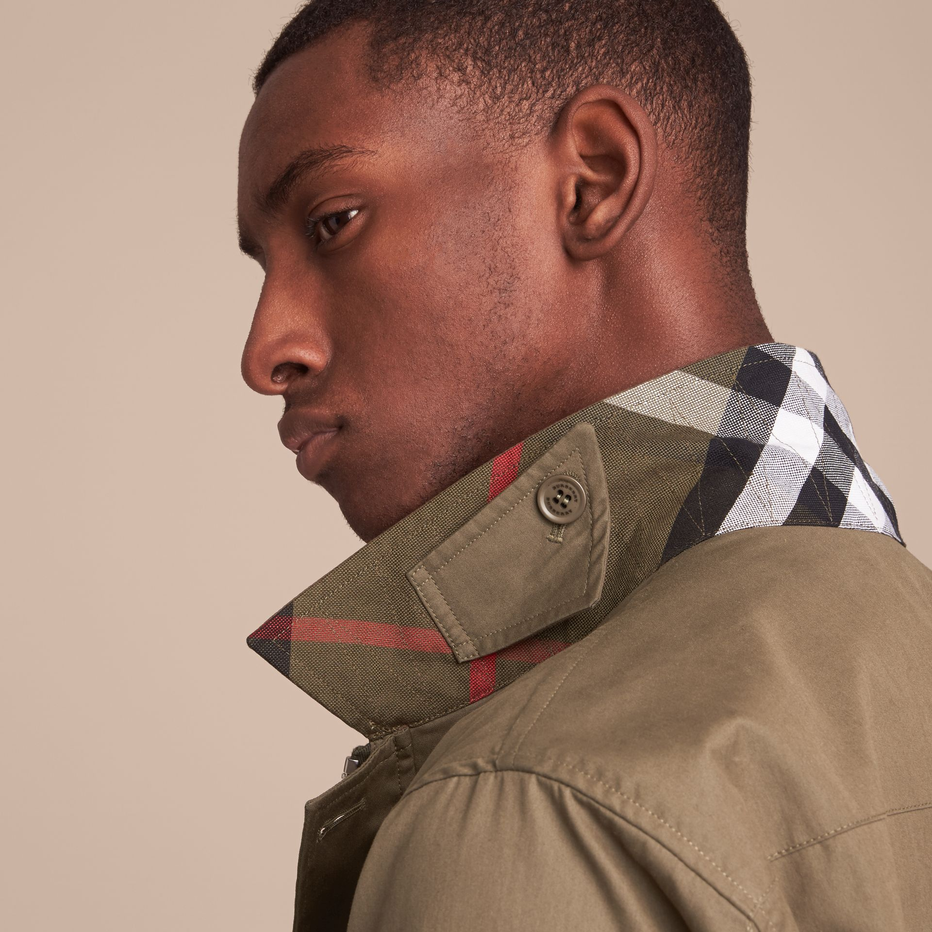 Technical Cotton Canvas Field Jacket - gallery image 6