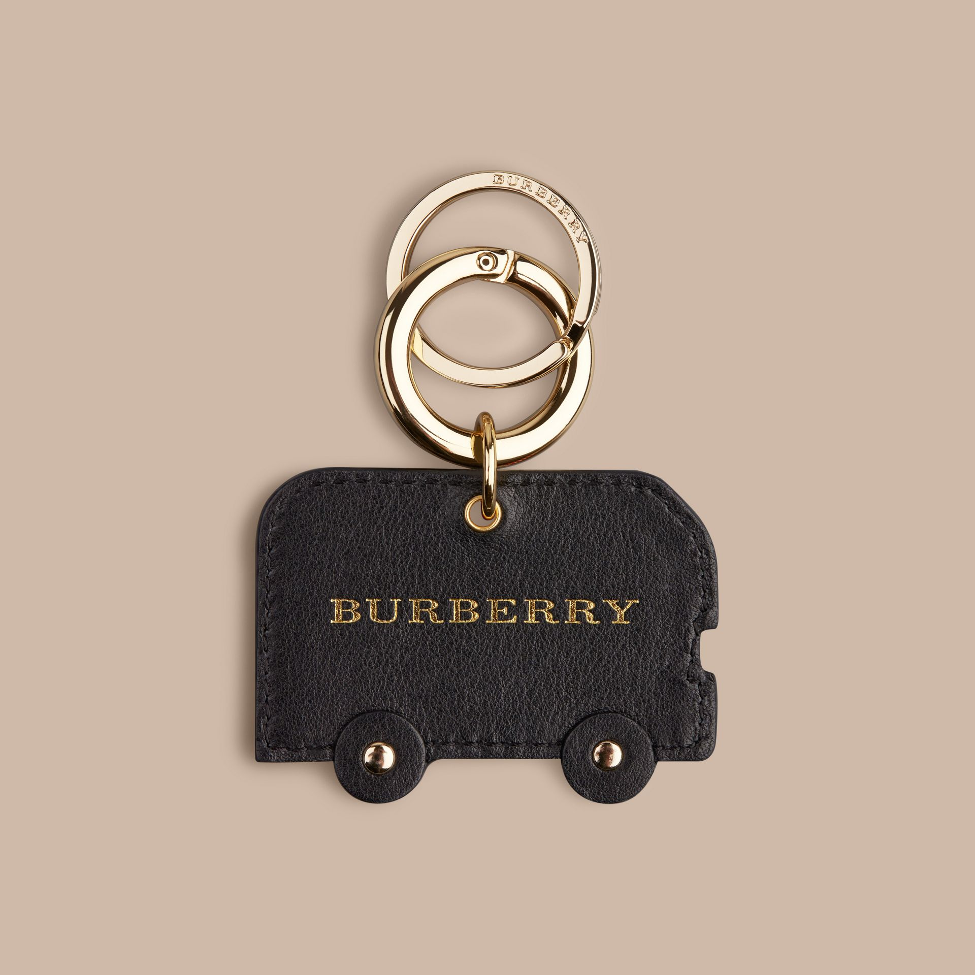 Black Horseferry Check London Bus Key Charm - gallery image 3