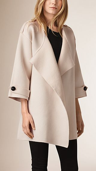 Knitted Silk Wool Cashmere Blend Jacket