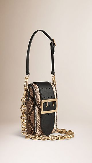 The Buckle Bag – Oblong in Python Limited Edition