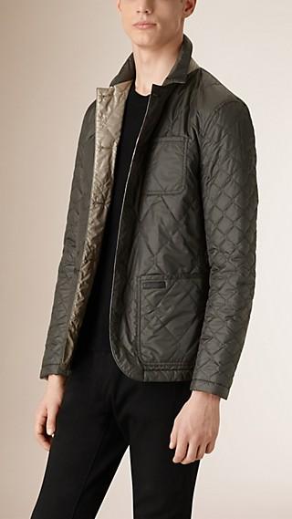 Reversible Military Quilt Blazer