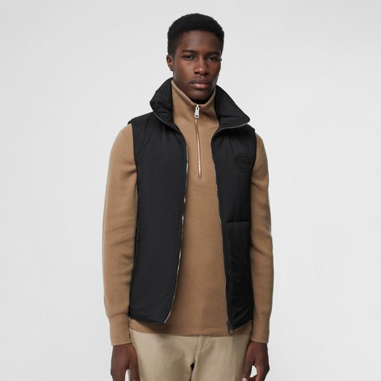 Burberry - Paletot en laine et cachemire avec veste sans manches amovible - 5