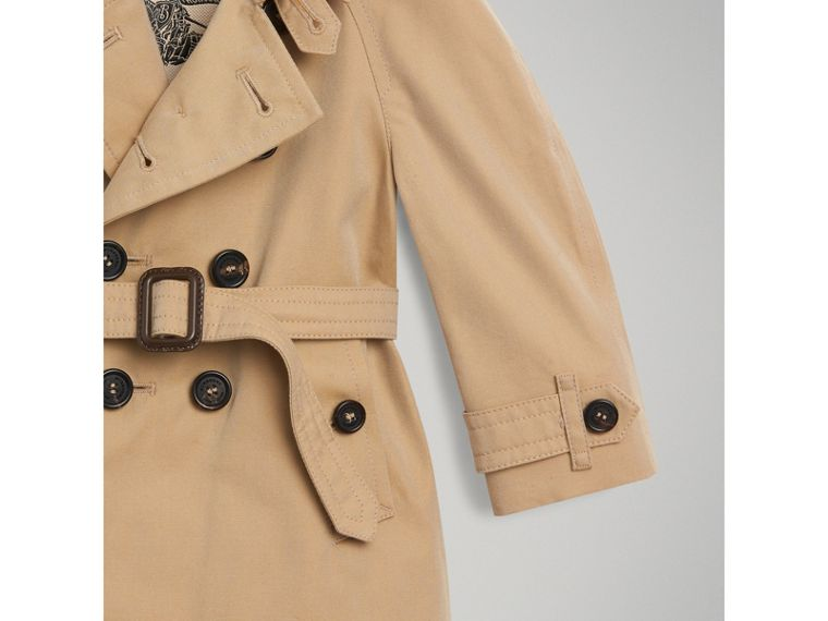 The Wiltshire Trench Coat in Honey | Burberry Canada - cell image 1