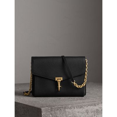Small Leather Crossbody Bag in Black - Women   Burberry United States -  gallery image 0