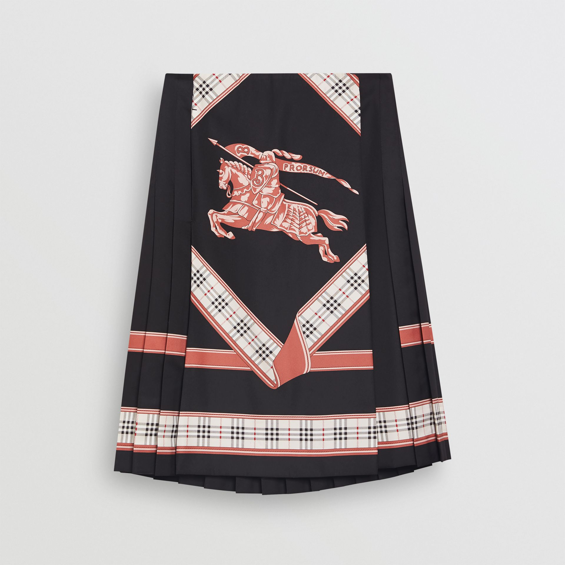 Archive Scarf Print Kilt in Multicolour - Women | Burberry - gallery image 3