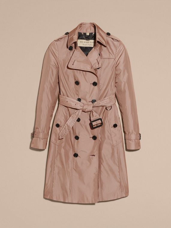Nude Long Technical Trench Coat - cell image 3