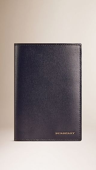 Étui pour passeport en cuir London