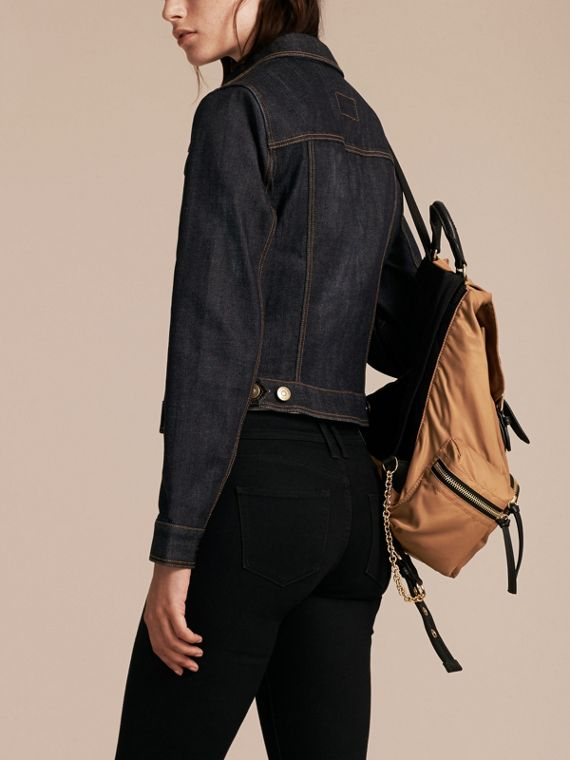 Indigo Japanese Stretch Selvedge Denim Jacket - cell image 2