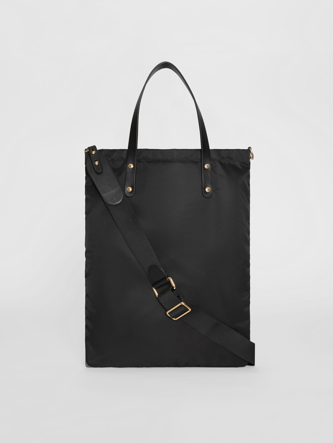 Kingdom Print Nylon Tote in Black