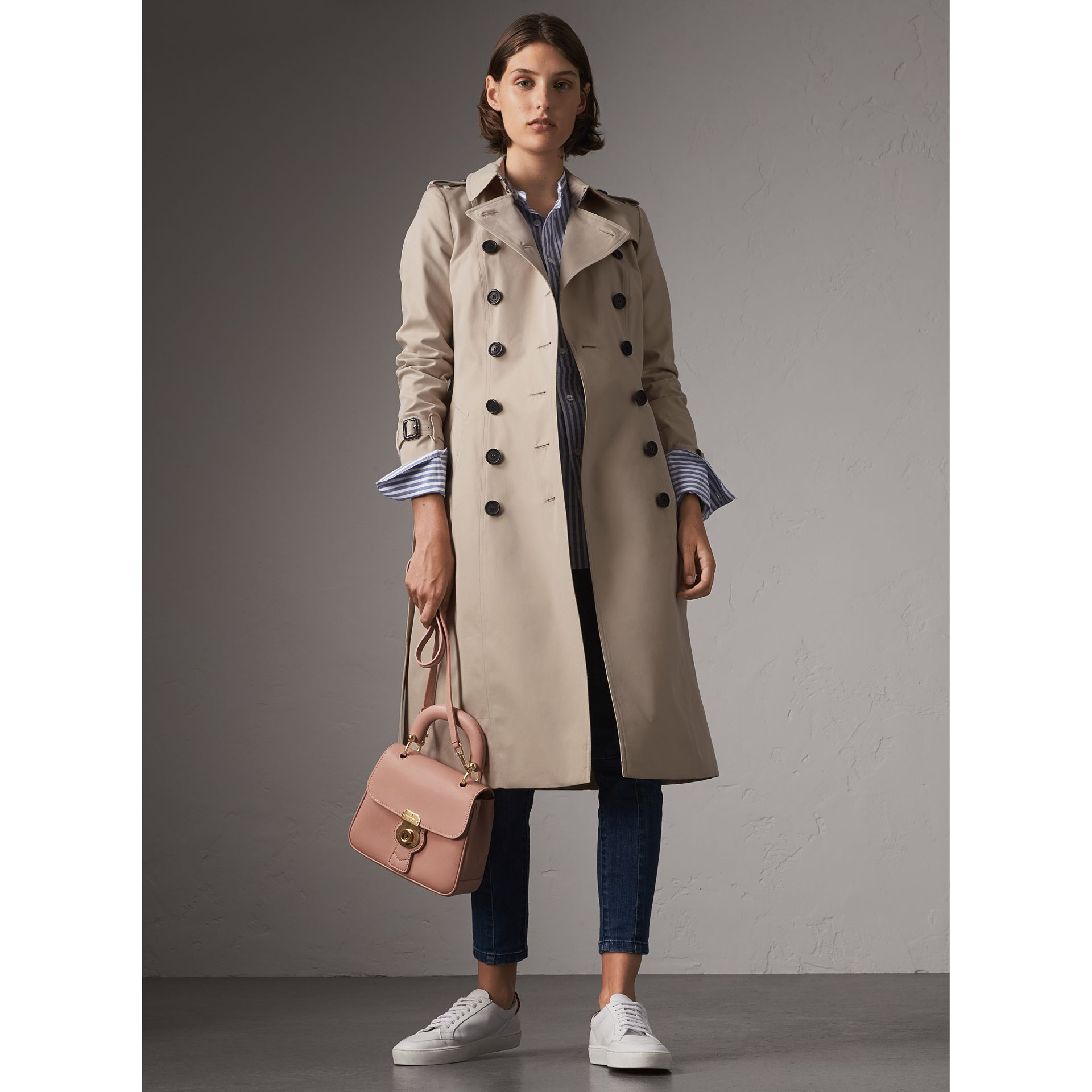 The Chelsea – Extra-long Trench Coat in Stone - Women | Burberry - gallery image 1