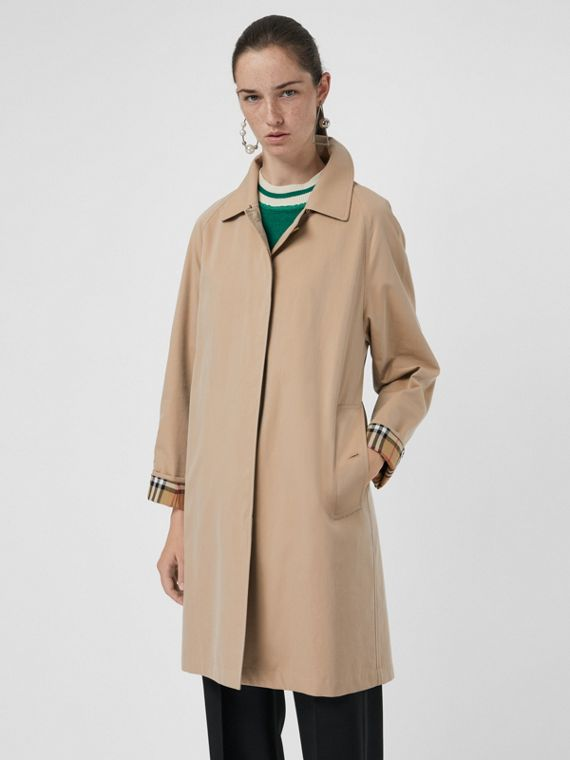 The Camden Car Coat in Honey