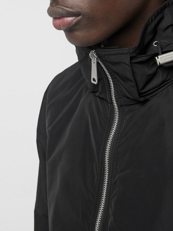Packaway Hood Showerproof Jacket in Black - Men | Burberry - cell image 1