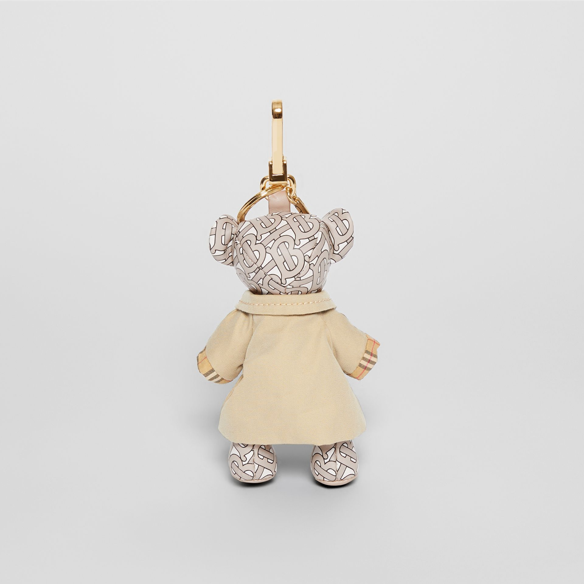 Thomas Bear Charm in Trench Coat in Beige - Women | Burberry - gallery image 3