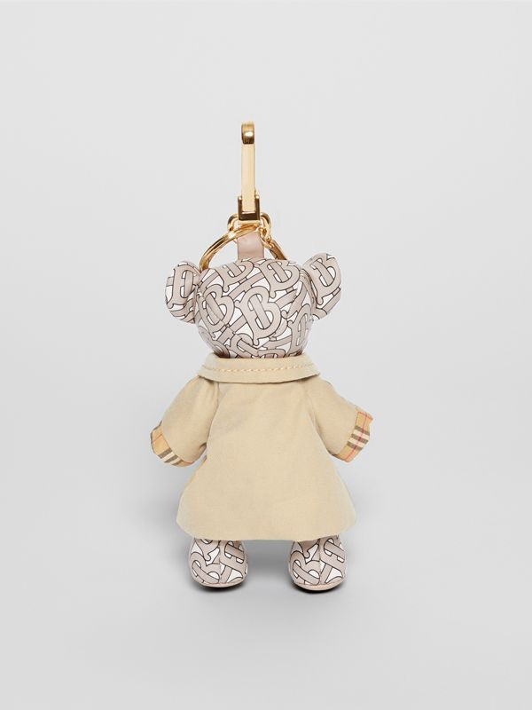 Thomas Bear Charm in Trench Coat in Beige - Women | Burberry - cell image 3