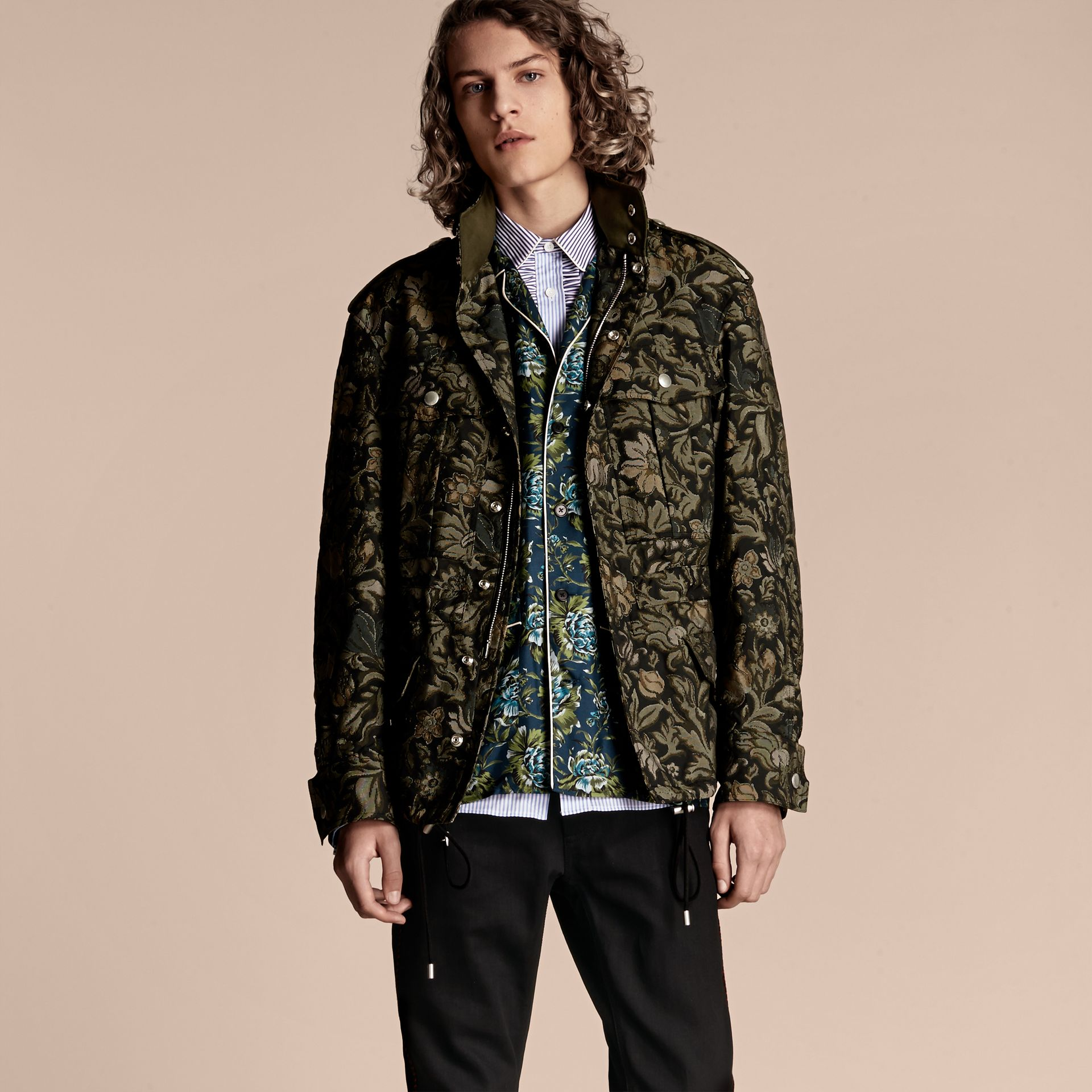Sage The Floral Field Jacket - gallery image 8