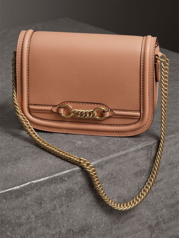 Borsa The Link in pelle (Pesca) - Donna | Burberry - cell image 3