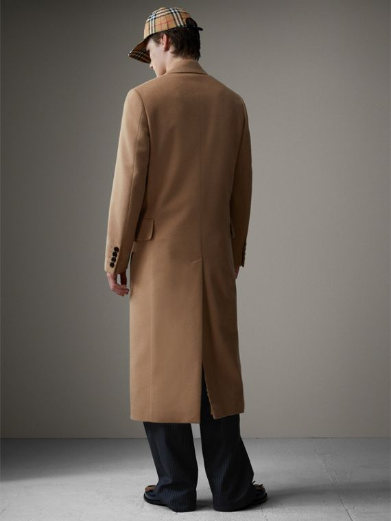 Camel Hair Wool Chesterfield - Men | Burberry Australia - cell image 2