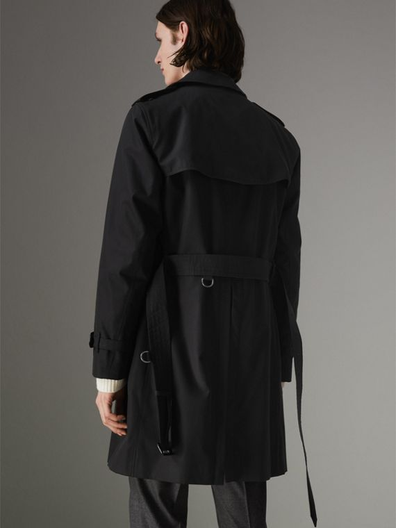 The Chelsea Heritage Trench Coat in Black - Men | Burberry United Kingdom - cell image 2