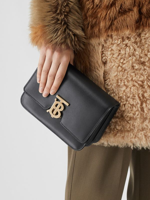 Small Leather TB Bag in Black - Women | Burberry United Kingdom - cell image 3