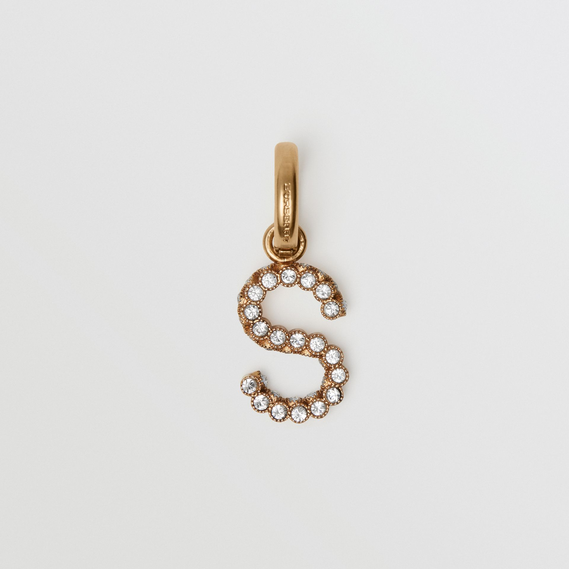 Crystal 'S' Alphabet Charm - Women | Burberry - gallery image 0