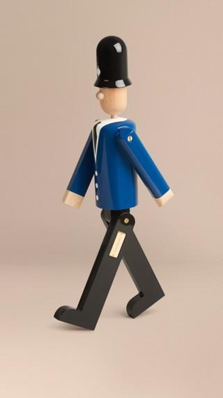 Marionnette en bois à l'effigie du Bobby en édition limitée
