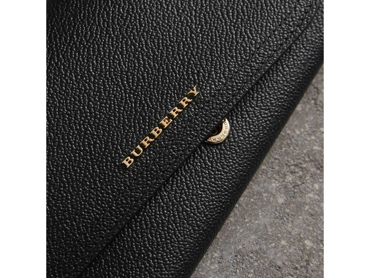 Leather Continental Wallet with Removable Coin Case in Black - Women | Burberry Singapore - cell image 1