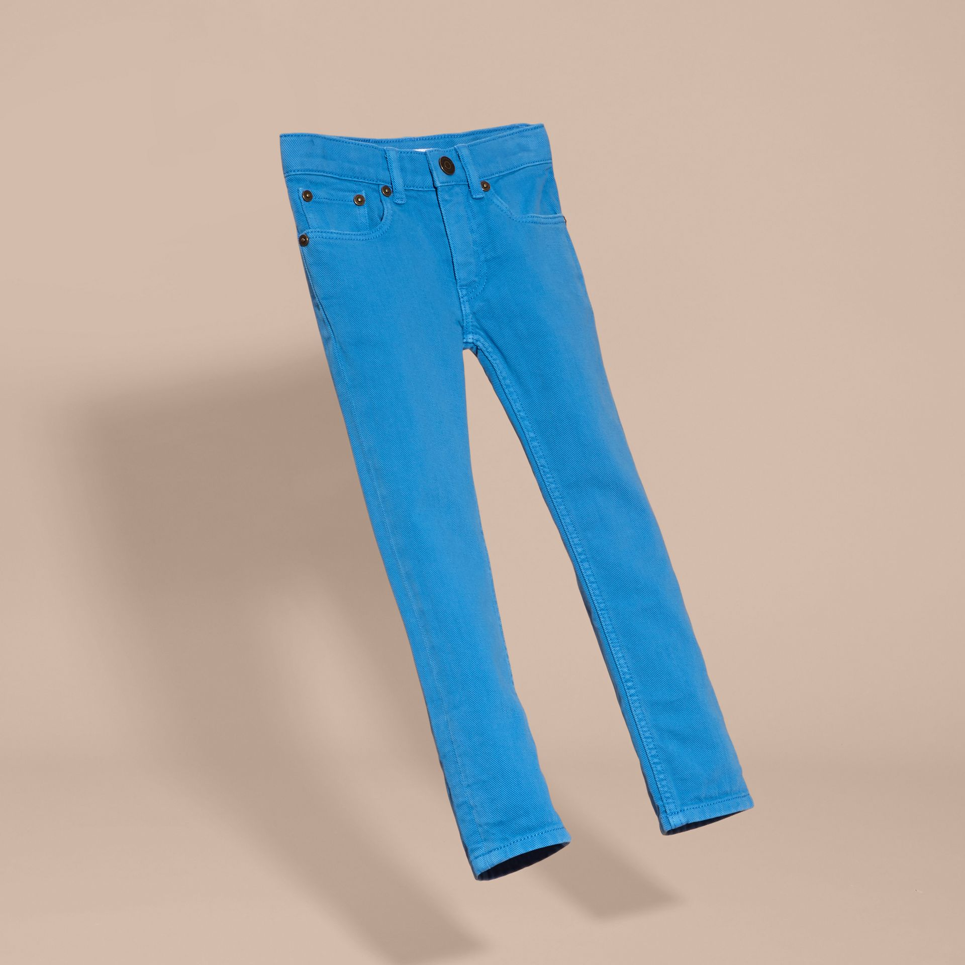 Chalk blue Skinny Fit Jeans - gallery image 3