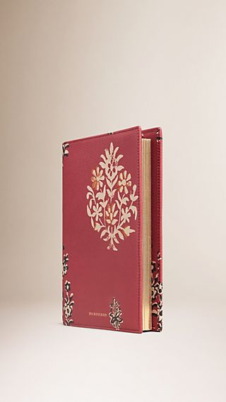 Wild Flowers Print Grainy Leather 18 Month 2015/16 A5 Diary
