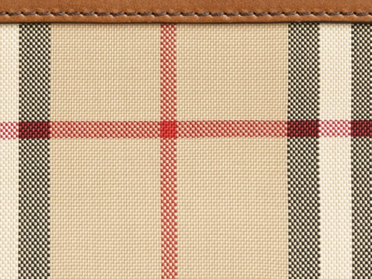 Tan Horseferry Check Ziparound Wallet Tan - cell image 1