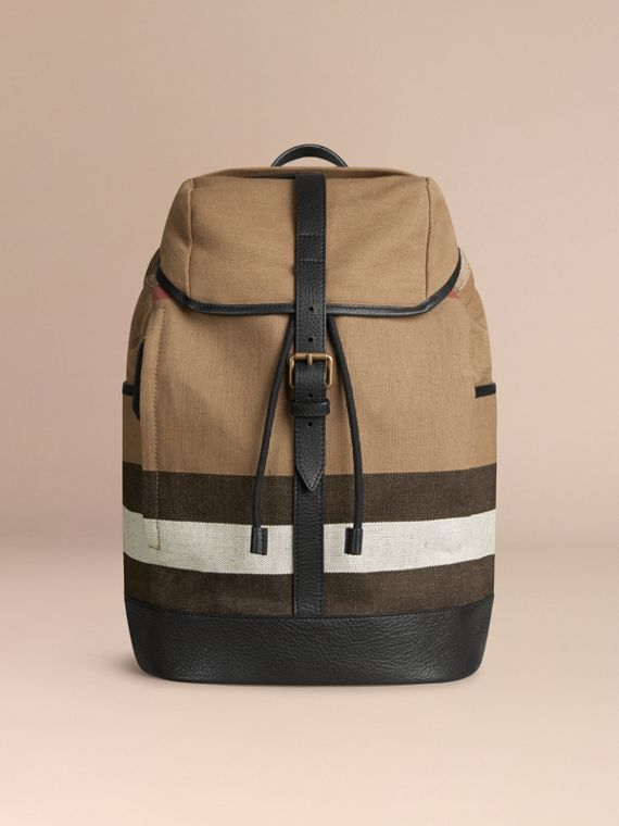 Canvas Check Backpack - cell image 3