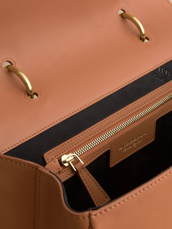 The Large DK88 Top Handle Bag in Bright Toffee - cell image 3