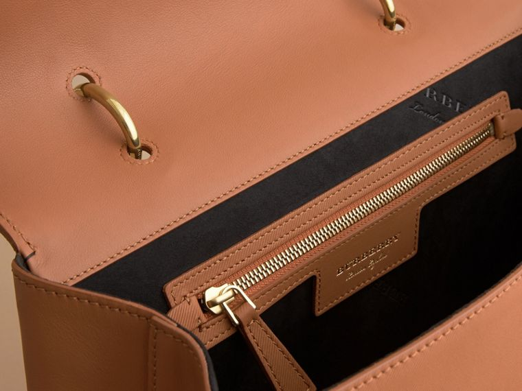 The Large DK88 Top Handle Bag in Bright Toffee - Women | Burberry - cell image 4