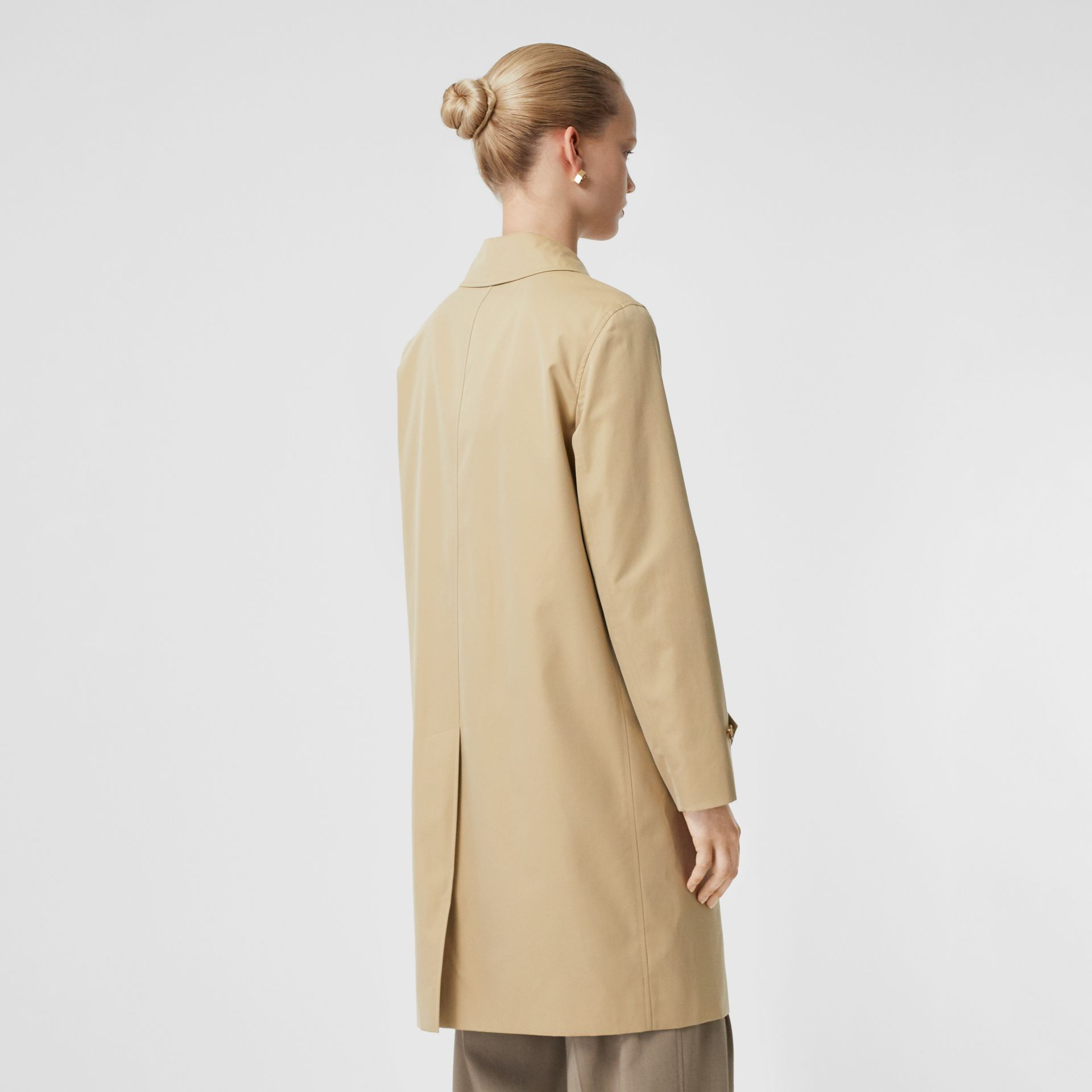 The Pimlico Car Coat in Honey - Women | Burberry - gallery image 2