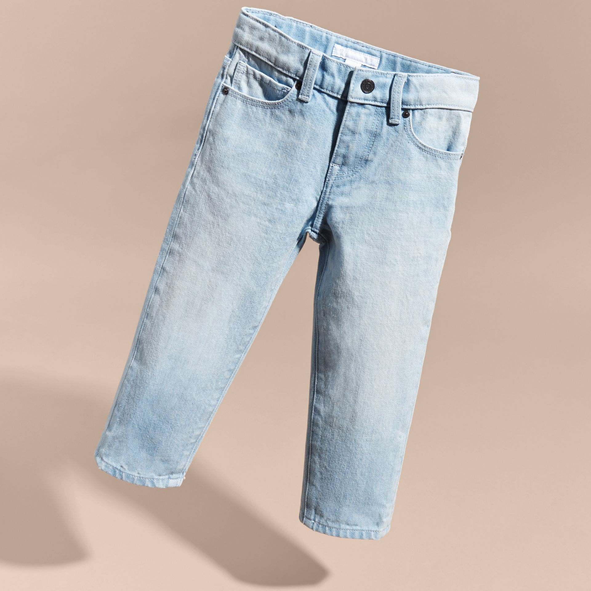 Relaxed Fit Cotton Jeans - gallery image 3
