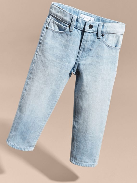 Relaxed Fit Cotton Jeans - cell image 2