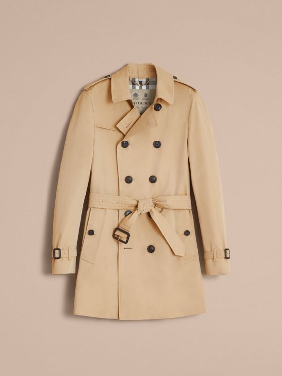 The Chelsea – Mid-length Heritage Trench Coat in Honey - cell image 3
