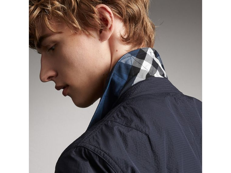 Seersucker Bomber Jacket - Men | Burberry Australia - cell image 4