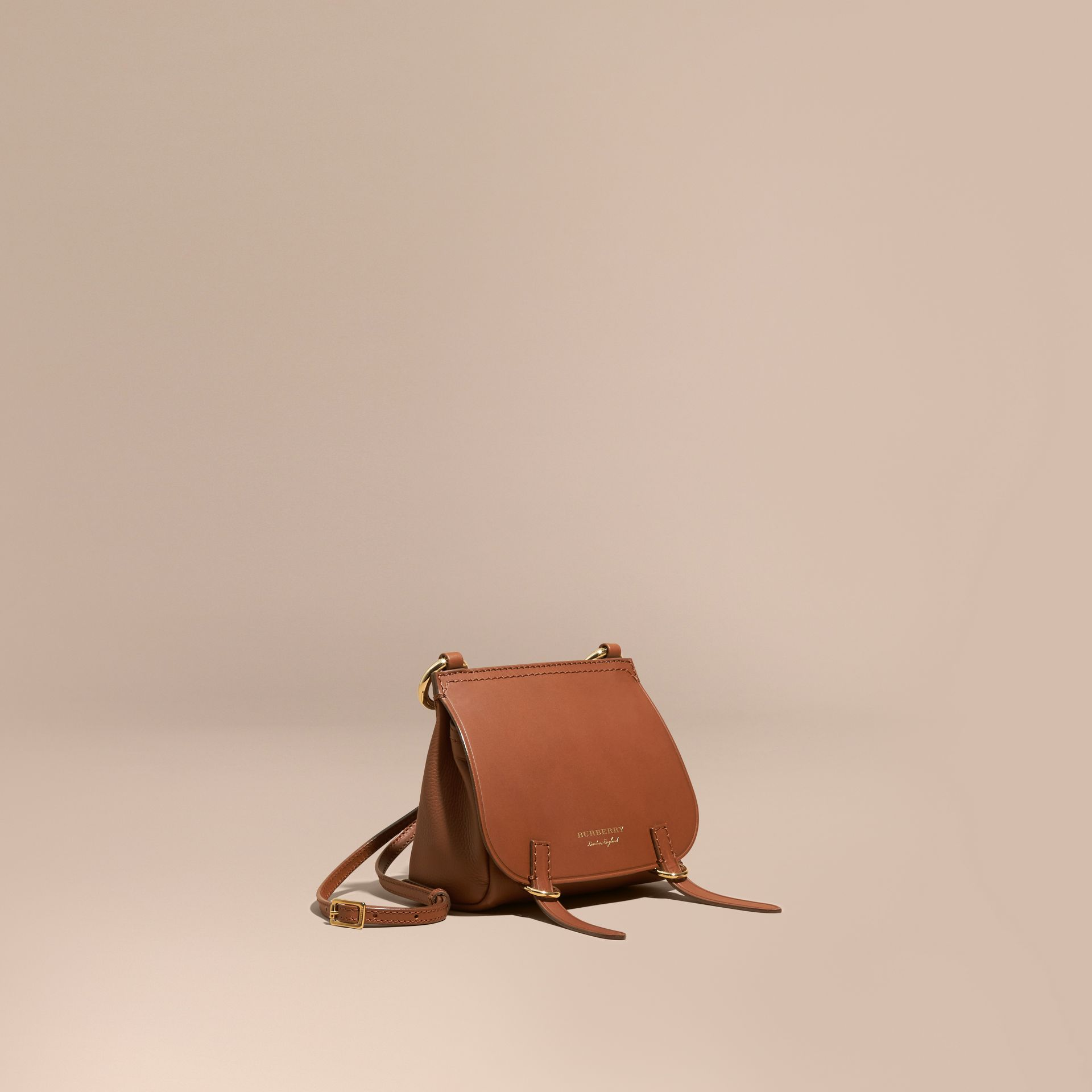 Borsa The Baby Bridle in pelle Marroncino - immagine della galleria 1