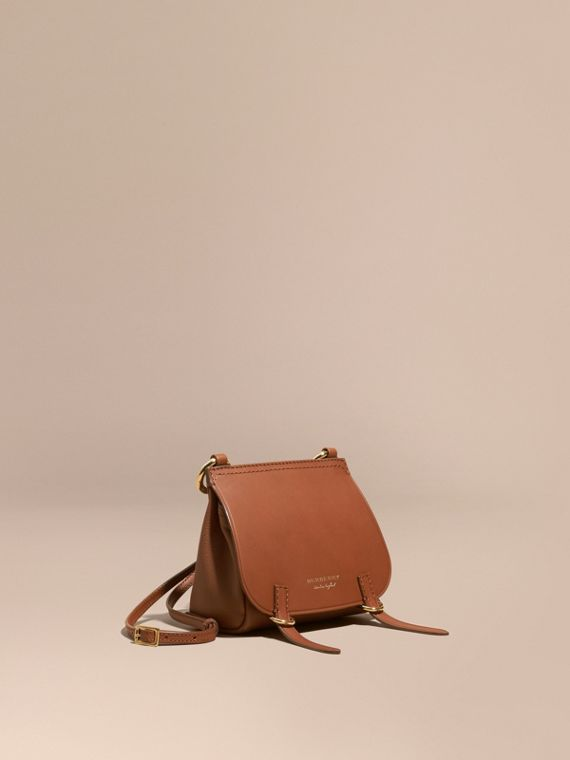 Borsa The Baby Bridle in pelle Marroncino