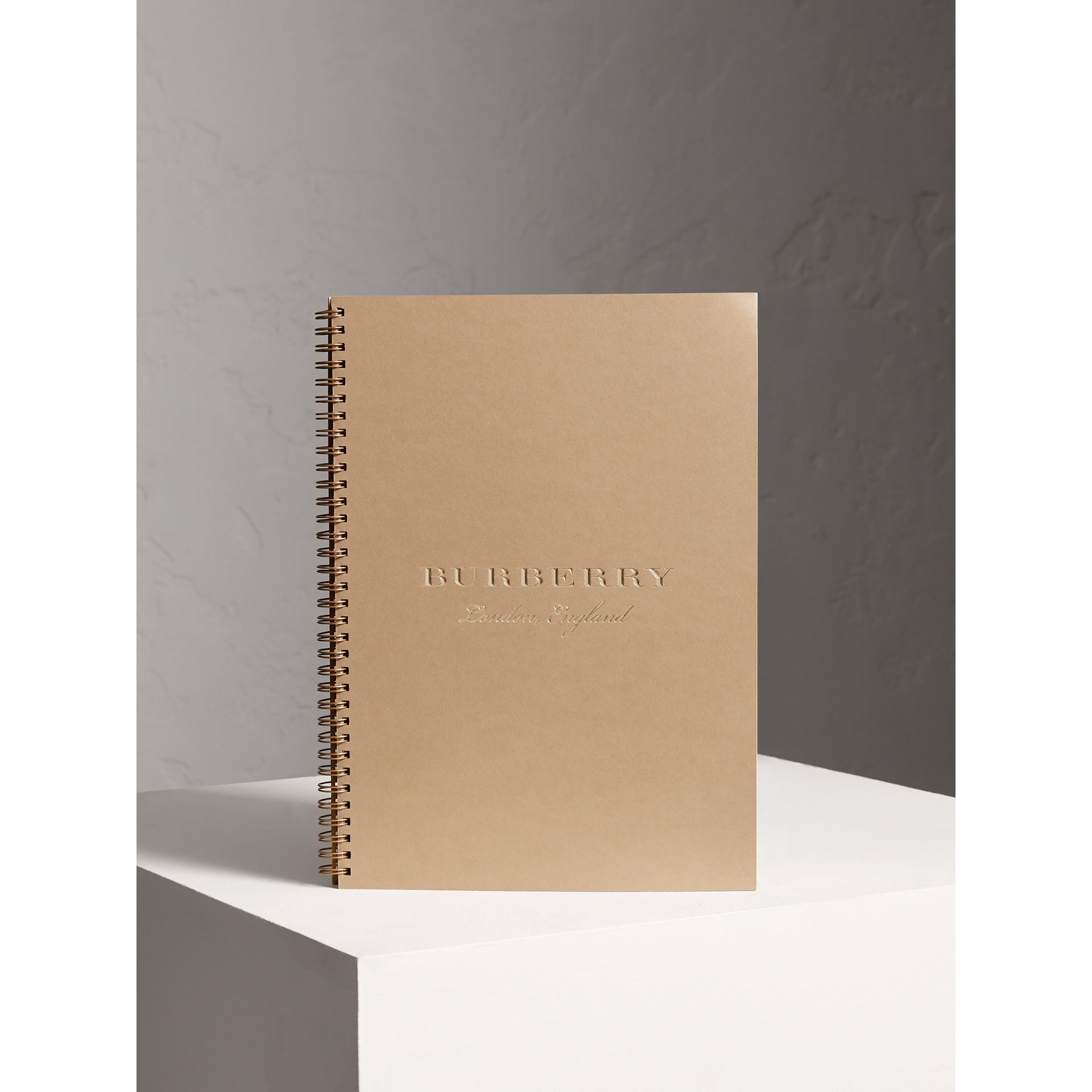 Recharge pour agenda A4 2018 (Miel) | Burberry - photo de la galerie 0