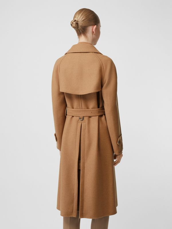 Cashmere Trench Coat in Bronze - Women | Burberry - cell image 2
