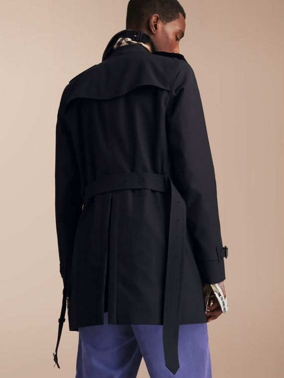 The Sandringham – Mid-length Heritage Trench Coat Navy - cell image 2