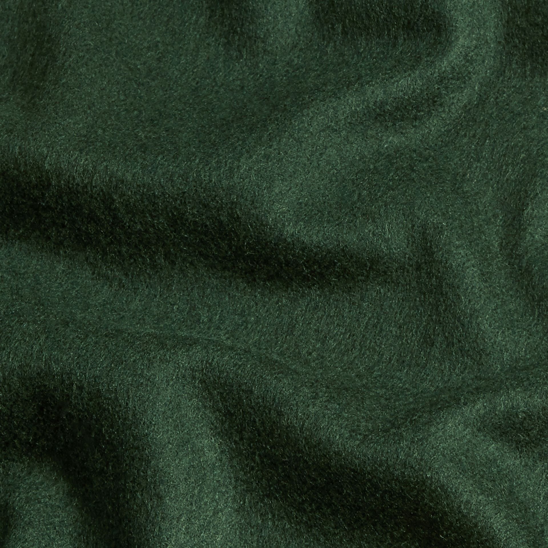 The Classic Cashmere Scarf in Dark Forest Green - gallery image 5