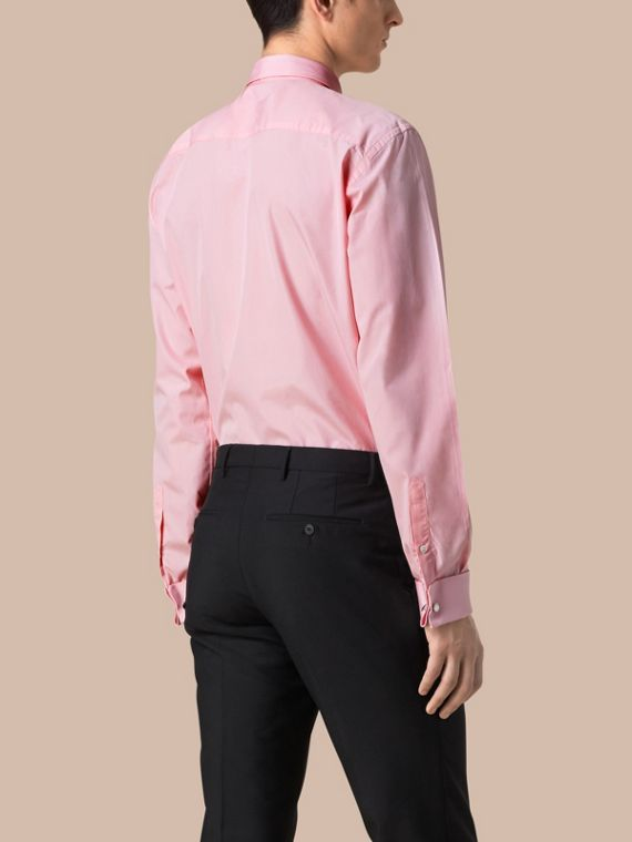 City pink Modern Fit Double-cuff Cotton Poplin Shirt City Pink - cell image 2
