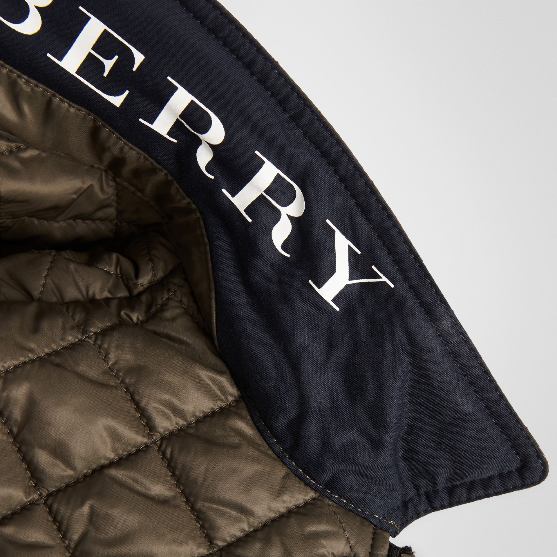 Lightweight Diamond Quilted Jacket in Oregano | Burberry United Kingdom - gallery image 1
