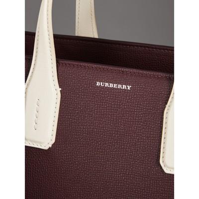 Burberry - Sac TheBanner moyen en cuir bicolore - 2