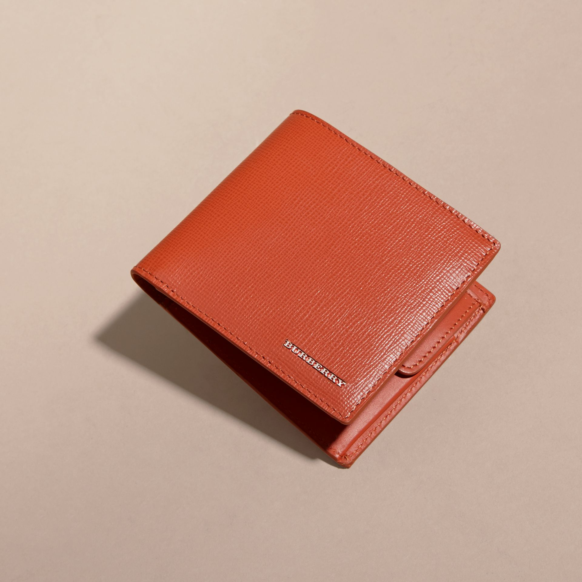 London Leather Folding Coin Wallet - gallery image 6