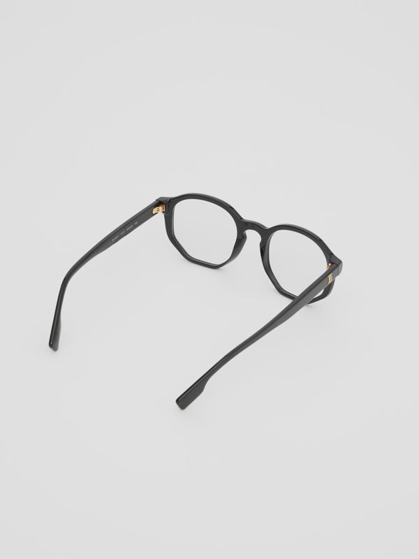 Geometric Optical Frames in Black - Women | Burberry - cell image 3