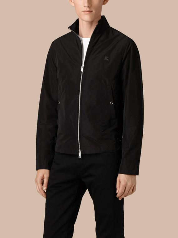 Black Lightweight Technical Jacket Black - cell image 3